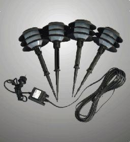 Комплект садовых светильников GX-8004